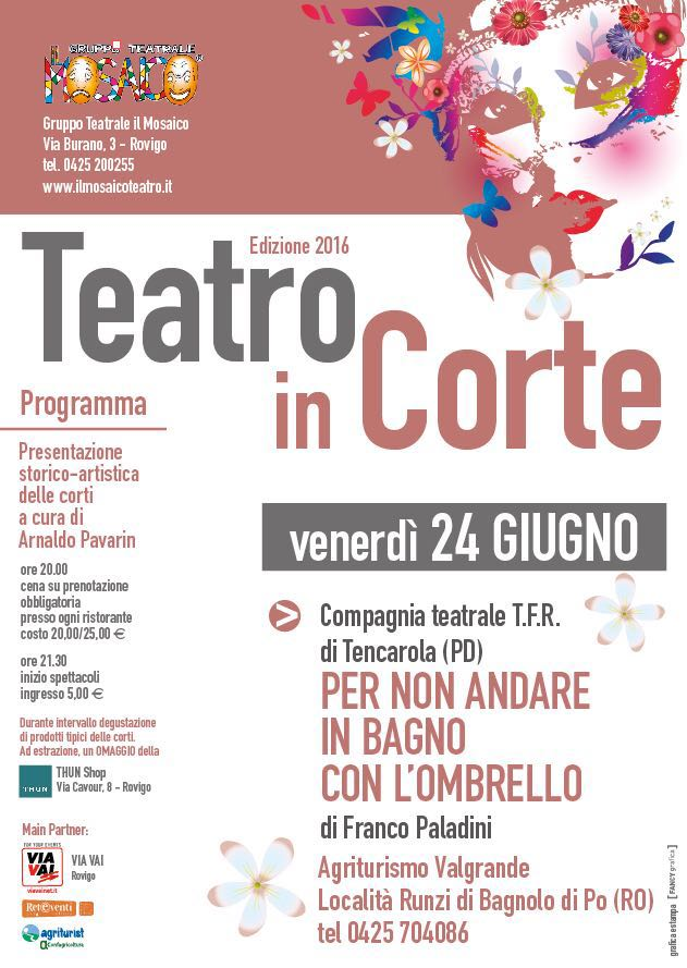 "Torna ""Teatro in Corte"" all'agriturismo Valgrande!"