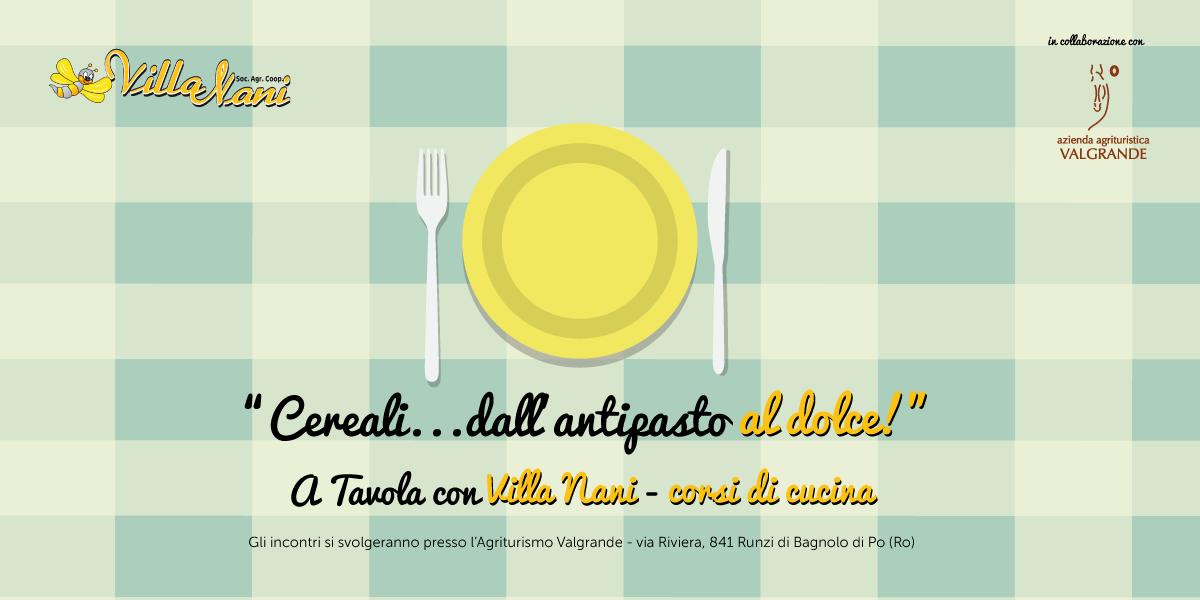 A tavola con Villa Nani, corso di cucina a Bagnolo Po!
