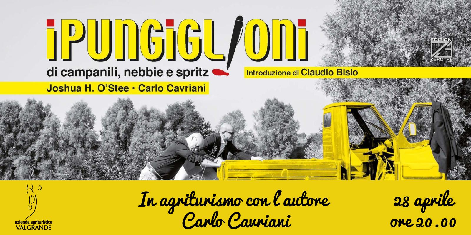 In agriturismo con l'autore – Carlo Cavriani