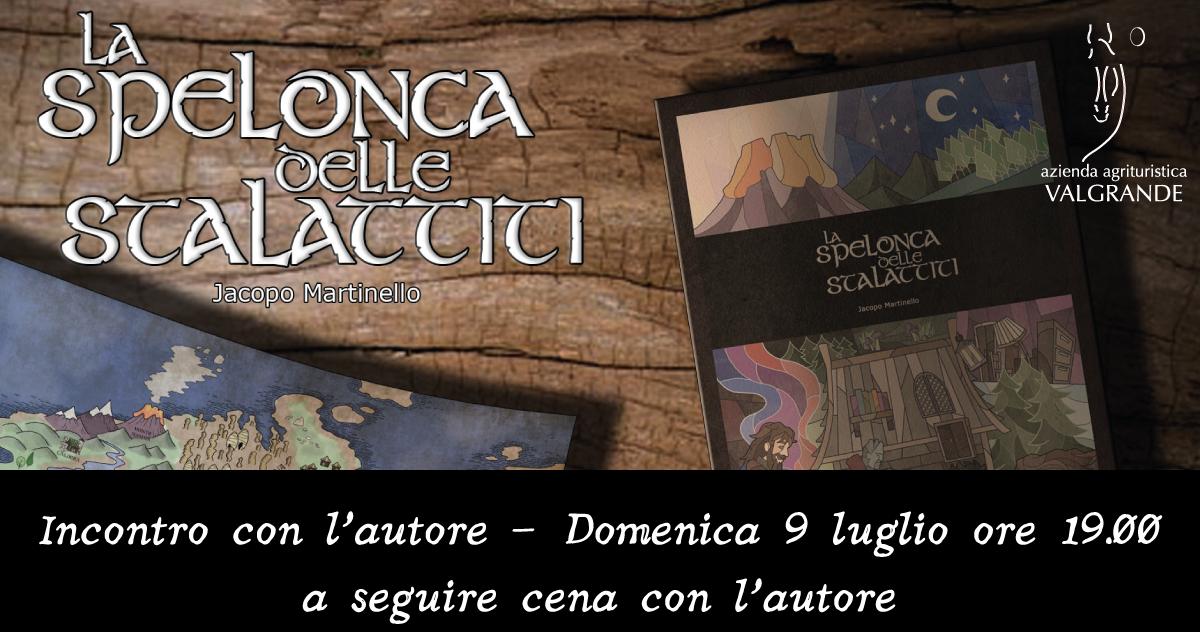 """""""La Spelonca delle Stalattiti"""": incontro con l'autore"""